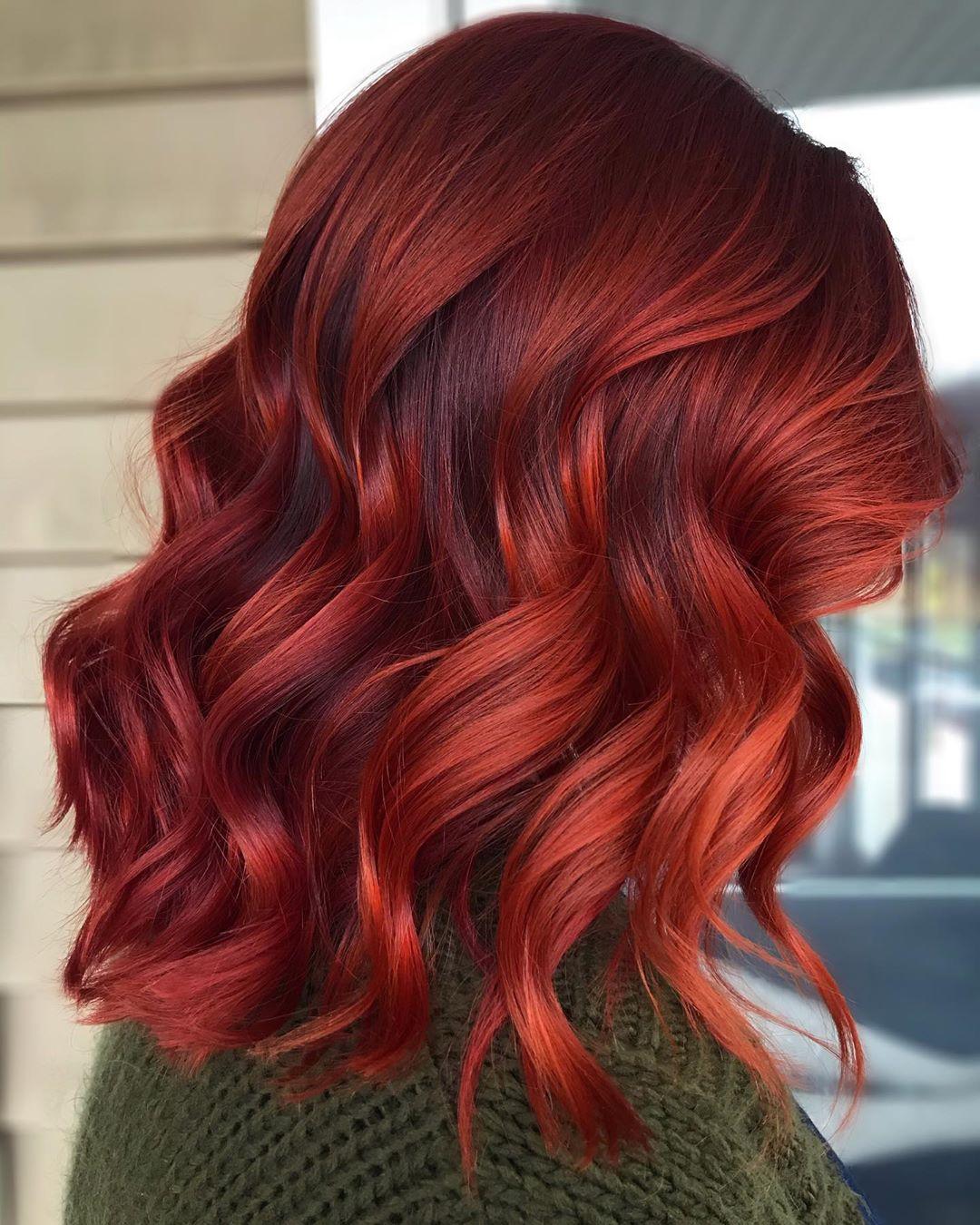 50 Dainty Auburn Hair Ideas To Inspire