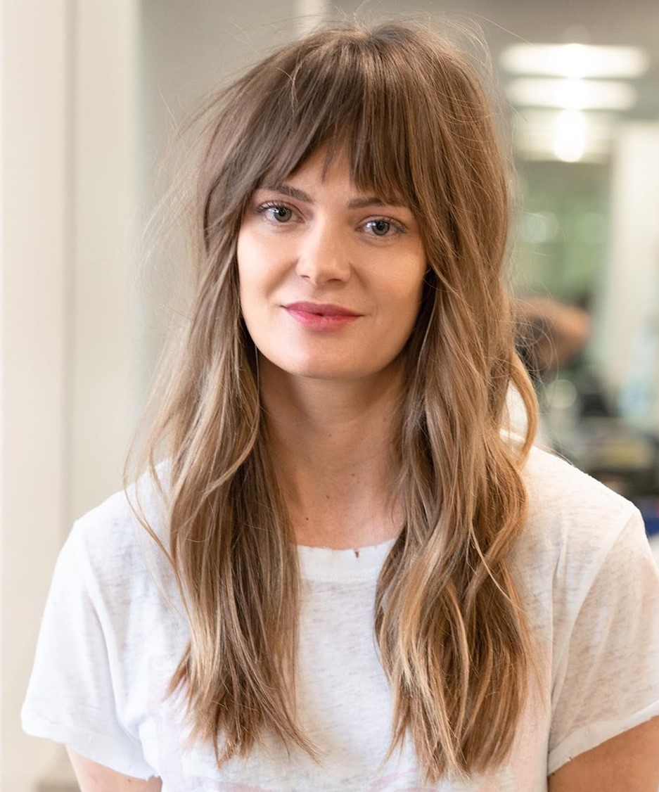 Hairstyles With Bangs In 2020