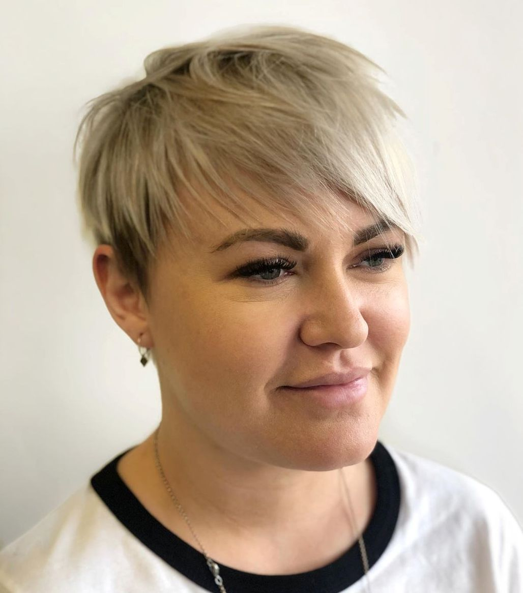 50 New Short Hair With Bangs Ideas And Hairstyles For 2020 Hair Adviser