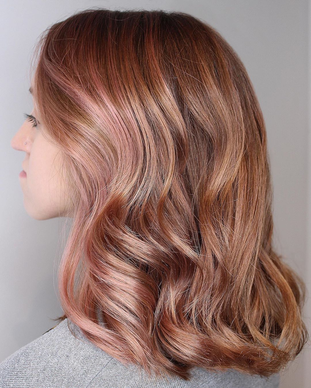 50 Eye Catching Ideas Of Rose Gold Hair For 2020 Hair Adviser