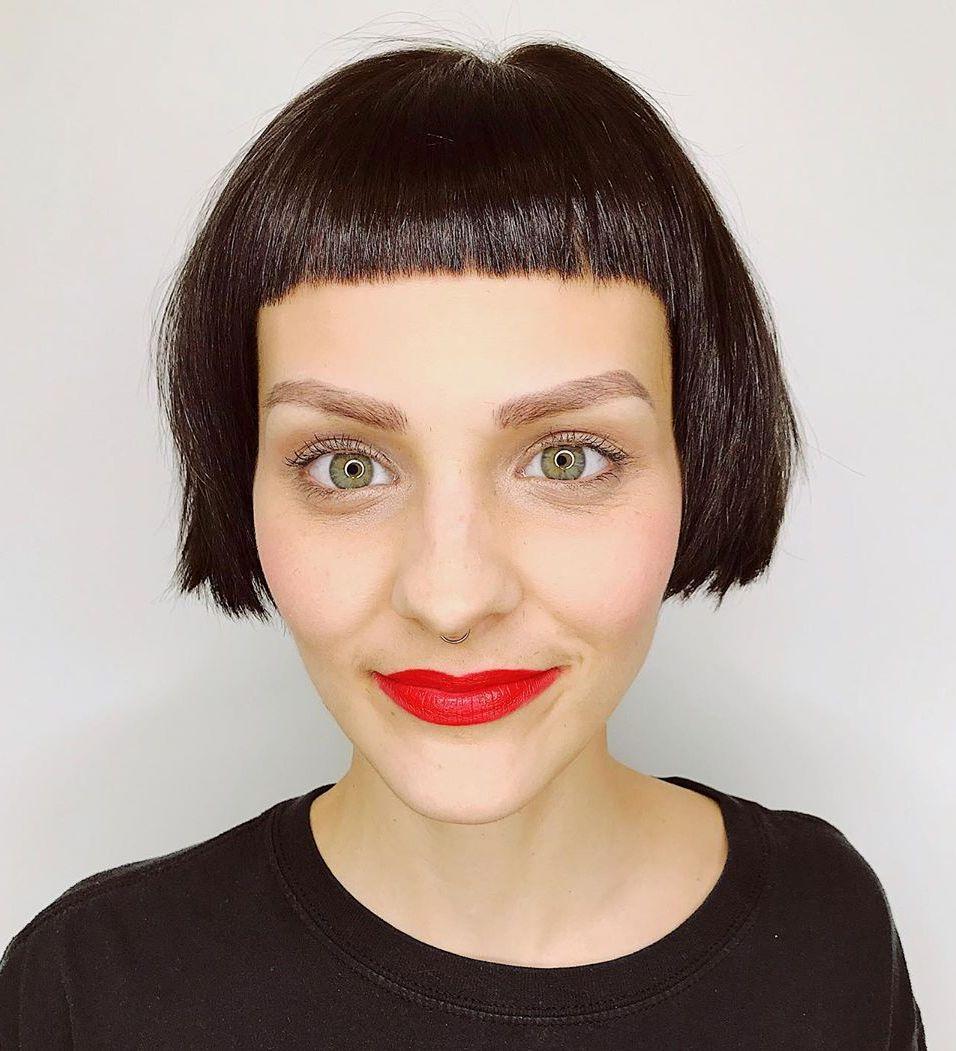 30 Trendiest Short Hair With Bangs Ideas For 2020 Hair Adviser
