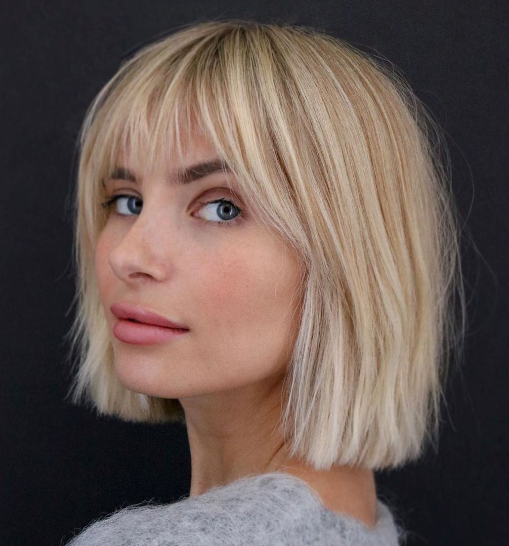 50 Newest Bob With Bangs Ideas To Suit Any Taste Hair Adviser