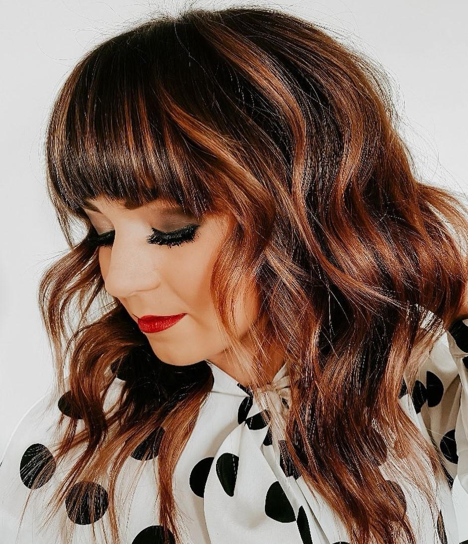 30 Best Styles For Medium Length Hair With Bangs Hair Adviser